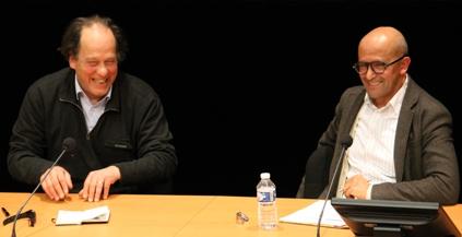 Ali Benmakhlouf et Jean Claude Ameisen